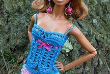 modna barbie szydelko