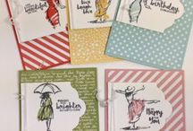 Watercolour cards