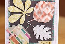 Fall crafts/ cards