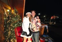 """Santa is Coming to Town / Every year our company has hosted a """"Come see Santa"""" during the Christmas holidays where we burn fires out front, hand out goodies and serve hot cocoa, apple cider cookies to all that come on by! Hope you can join us !!!"""