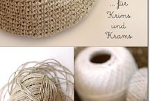 Crochet Hemp Twine / Things crocheted with hemp twine. / by Strawberry Couture Etsy Unique Crochet and Knit Hats Scarves Patterns