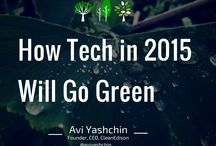 Green Technology / A board by Avi Yashchin on how green tech is shaping our world in 2015 and the trends we will be seeing during this year.