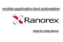 Mobile Application Testing & Automation Tutorials / Appium, Selendroid, SeeTest Automation, Ranorex Studio, Selenium Automation, User Agent Switcher Mobile Testing & Automation Tutorials