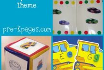Transportation Theme / by Barb Ackerman