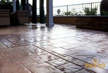 Stamped Concrete   Patio Warehouse Inc. / Discover The Outdoor Living Space  Of Your Dreams