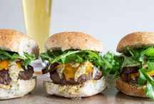 """Cheeseburgers Galore / Classic, double-stacked, stuffed—there are so many ways to """"cheese"""" your burgers. Try one of these for your cheese loving, burger loving guests and family."""
