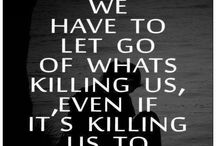 Growing pains/Letting go