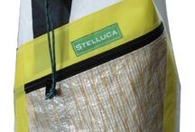 School and Sailing Bags / Messenger and recycled material sailing bags
