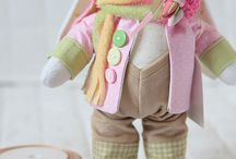 мк кукла Тильда