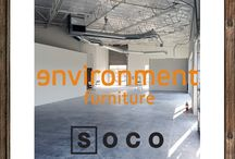 Environment Furniture - Orange County / Concept Design owner, Tamra Mundia also works with Environment Furniture and is in charge of the build out for the new showroom in SoCo.