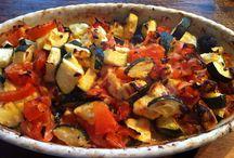 Vegetarisch foto's / Foto's vegetarisch eten