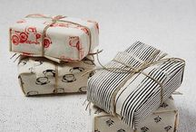 Gift Packing Paper and Fabirc