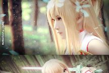 Cosplay anime kawaii