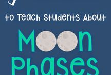 4th Grade Science TEKS--Moon Phases, Tides, Shadows, Patterns in the Sky / Resources to teach 4th grade students about moon phases, tides, shadows, and patterns in the sky.