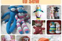 hračky z ponozek