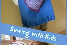 Sewing projects for Kids / Have fun sewing for beginners.  Sew and learn, math, reading, fine motor skills and patience.   / by Jillian Riley @ A Mom With A Lesson Plan