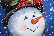 Cara de nieve