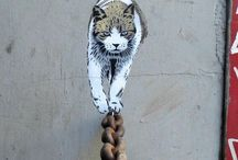 street art , out door art / by Katia Dufourcq