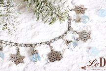 Winter charms / LeDiLe charms чармы  шармы сharm bracelets