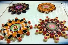 Quilled TeaLight holders