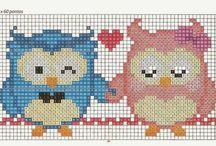 Charts/graphs - owls