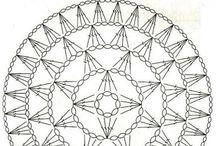 Motivo crochet cortina