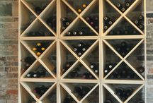Wine Racks / Showing off our appreciation of wine racks in all their shapes and sizes.