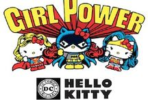 Hello Kitty x DC Comics