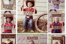 Cowboy theme bday party