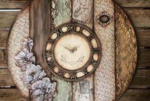 ρολόι τοίχου- αντίκα ξυπνητήρι