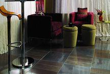 Metal Tile Flooring / Metal Looking Tile Flooring