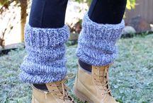 Knit knit knit --- Socks & such