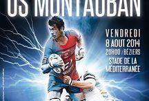 Affiches de Match 2014.2015 / Les visuels de matchs pour la saison rugbystique 2014.2015 / by ASBH Officiel