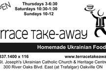 Terrace Take-Away / Homemade Ukrainian Food every Thursday, Saturday & Sunday