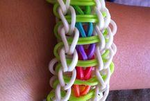 Ruber band bracelet