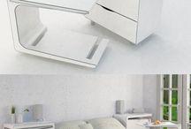 Mesas cabeceira 2 usos