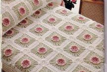 Chrochet bedspread