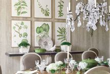 dining rooms / by Melody Garrett