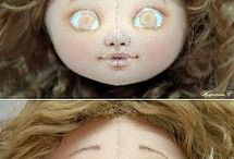 Dolls - eyes, mouth, face