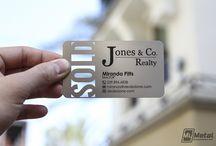 Real Estate broker business cards