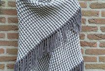 Gehaakte omslagdoek en sjaals