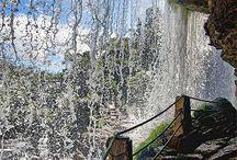 Каньоны, водопады