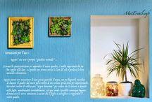 """MatErialsEdp / """"MatErials Edp """" è il mio personale progetto che vede spaziare e fondersi insieme diversi materiali, tra cui vetro, legno, metallo, piante e fiori , al fine di realizzare  gioielli, lampade e quadri .. Tutto all'insegna dell' HandMade .. Tutto riporta ad un mondo semplice, dove ogni cosa acquista significato e trova spazio nella quotidianeità delle nostre case."""