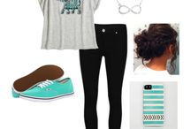 Cute clothes / Clothing styles for teenage girls