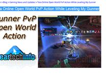 Tera Online PvP (Player vs Player) / Tera Fate of Arun PvP action. Gunner open world PvP.
