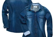 Denim Shirts / Denim shirts never go out of fashion. Whether it is for a casual look or choosing from the offbeat colors like dark green, icy white and the like from reputed wholesale denim shirts suppliers, you can never go wrong with denim shirts.