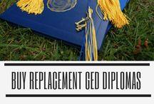 Buy Replacement GED Diplomas