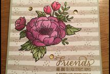 Birthday Blooms / Inspiration Birthday Blooms stamp set Stampin' Up!