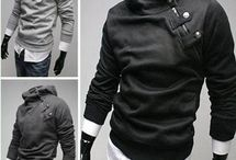 Men's clothes.