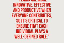Teamwork / Taking teams to the next level with our Team Effectiveness model